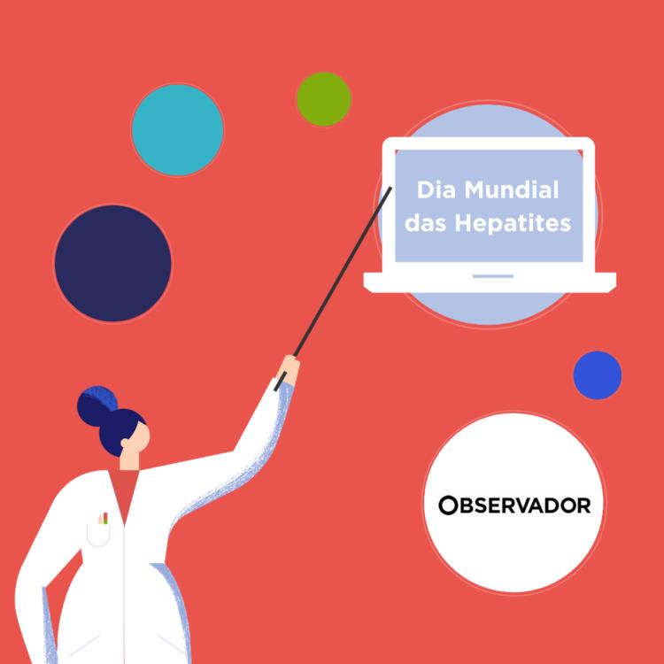 Campanha sensibiliza para diagnóstico precoce e tratamento das hepatites