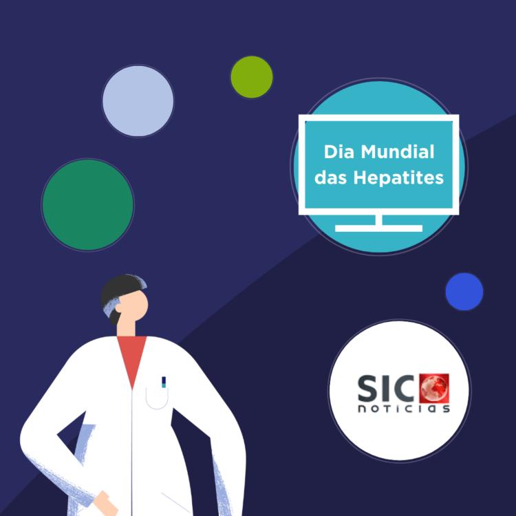 Figuras públicas sensibilizam em campanha no Dia Mundial das Hepatites